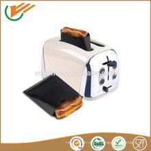 Высокая устойчивость к теретуре PTFE коричневый мешок для тостов