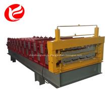 Cobertura de dupla camada que faz os preços da máquina de prensagem