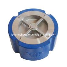 Válvula de retenção silenciosa tipo wafer ANSI 125/150 de ferro fundido
