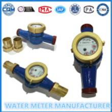 ISO4064 बहु यांत्रिक पानी मीटर सूखी डायल ठंडे पानी के मीटर की