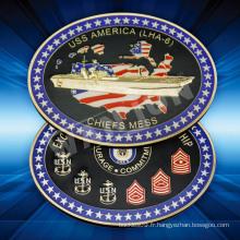 Chine fournisseurs USA personnalisé souvenir or Coin