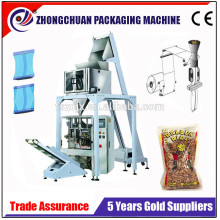 Trade Assurance Automatic Beans/Corns/Seeds/Granule Fertilizer Vertical Packing Machine With Linear Weighing System