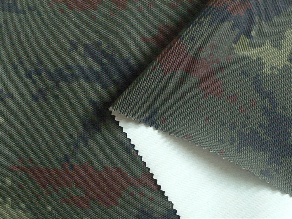 500D Cordura Flame-retardant and Waterproof Camouflage Fabric