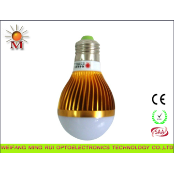 LED Bulb Lamp 5W with Constant Current LED Driver E27