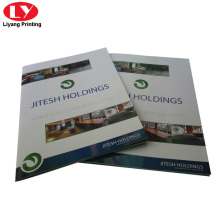 Colorful product catalogue book printing
