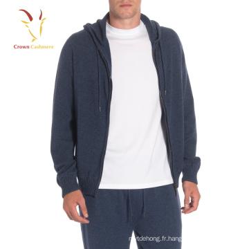 Long Mens Cardigan en tricot vêtements