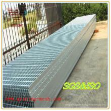 Rejilla de barra de acero galvanizado caliente para la construcción