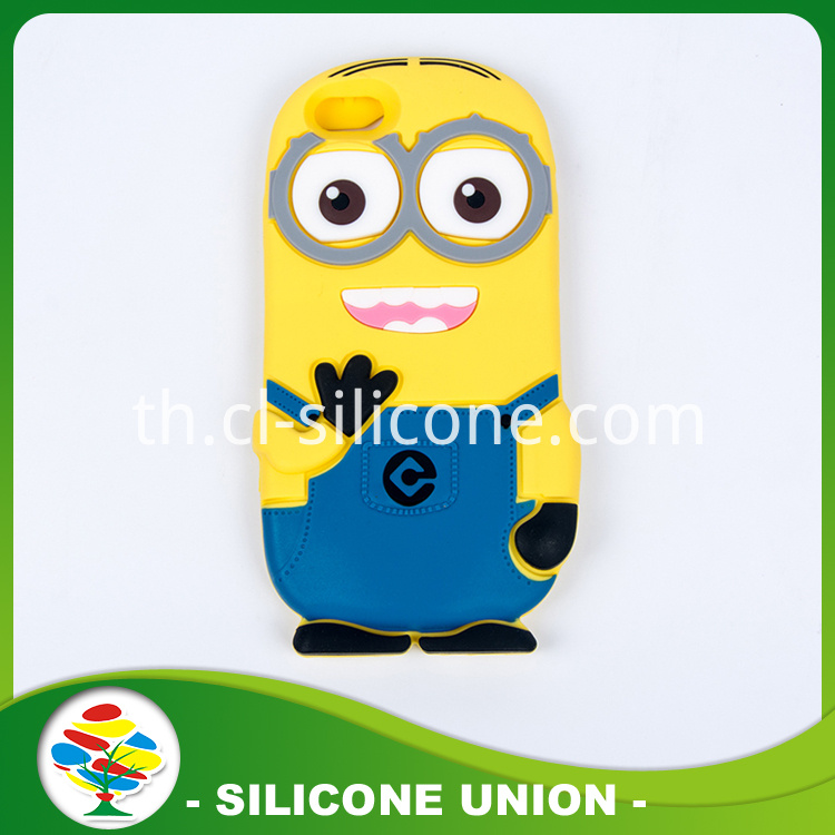 Silicone Anime Cellphone Wallet