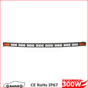auto electrical system 4x4 accessories single row led light bar rgb