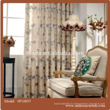 Tissu rideau 2016 en ligne chez Chine fournisseur