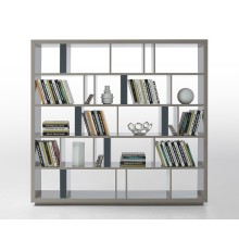 Modern Gray Lacquer Room Divider