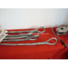 Calcetines de malla de alambre OPGW