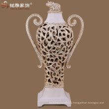 выдалбливают дизайн высокое качество смола цветок ваза индийская свадьба пользу