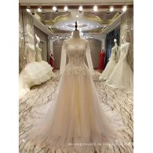 Neue Ankunft 2017 Mehrfarbenheirat Schlüsselloch-Hochzeits-Kleider