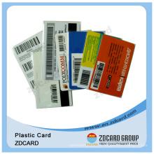 Cartes de paiement prépayées / Cartes à puce Scratch / Cartes plastiques