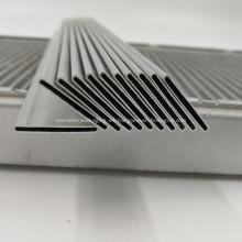 4343/3003/7072 Tubo plano ovalado de aluminio para radiadores