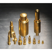 Pin de contacto de resorte de bronce para la carga de energía de Wearables