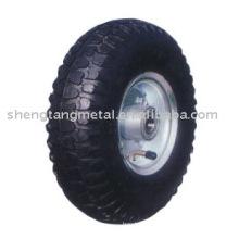 roda de borracha pneumática PR1009