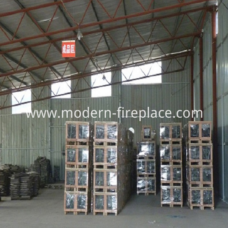 Wood Contemporary Stoves Processing Plant Workshops