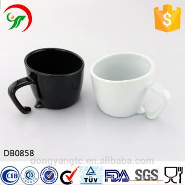 2015 Nuevo Diseño Al Por Mayor LOGOTIPO taza de café de cerámica ecológica esmaltada