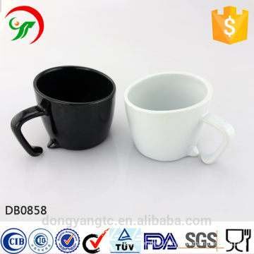 2015 New Design Wholesale Custom LOGO glazed eco ceramic coffee cup