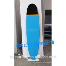 2015 epoxy longboard sup board surfboard dark color longbaord 7'8 ~!