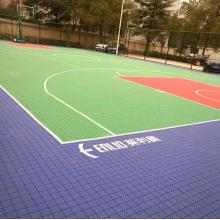 billige outdoor-basketball-systeme pp-bodenbelag fliese
