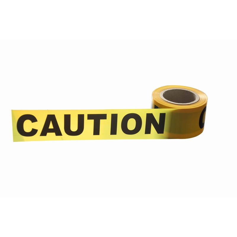 Road safety high visible PE warning tape