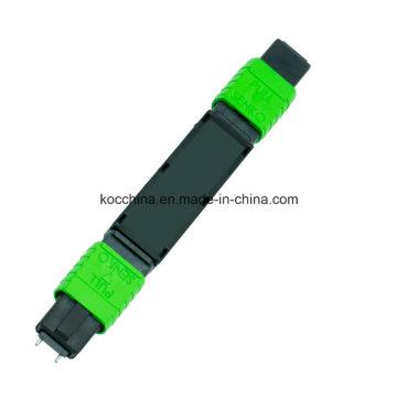 Uso da rede da fibra óptica do atenuador de MPO