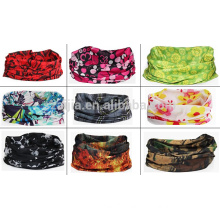 Fashion polyester printing infinity magic scarf