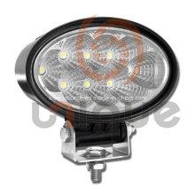 Universal impermeable 24W LED luz del trabajo de campo a través con viga de punto/inundación/Combo
