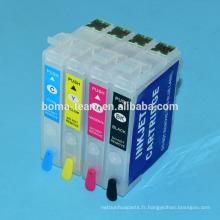 Asie 364 T3641-T3644 Cartouche d'encre rechargeable avec puce pour EPSON XP-245 XP-442 XP-243 XP-247 Imprimantes