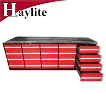 tabela de aço resistente da bancada da gaveta de banco da ferramenta para a garagem