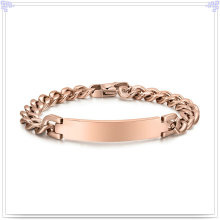 Modeschmuck Edelstahl Armband ID Armband (HR157)