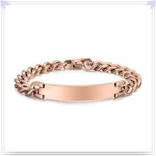 Moda jóias pulseira de aço inoxidável pulseira de identificação (hr157)