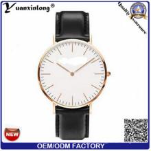 Yxl-655 chinesische Großhandel Echtleder-Uhren für Männer, Luxus Uhren Herren, 3 ATM Mikrorotor Herrenuhren