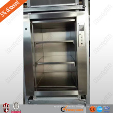 CE 100 kg or 200kg load high quality restaurant food elevator dumbwaiter food ladder