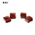 """Tampas quadradas de vinil vermelho 1-1 / 2 """"x 1-1 / 2"""" para unistrut"""
