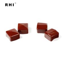 """Tapas cuadradas de vinilo rojo 1-1 / 2 """"x 1-1 / 2"""" para unistrut"""
