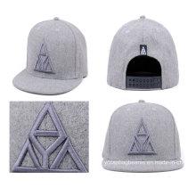 Изготовленные на заказ плоские Билл шляпы оптом с вышивкой 3D