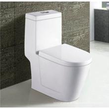 Venda quente banheiro cerâmico Siphonic um pedaço WC