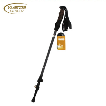 3 Section Folding Ultra Strong Carbon Trekking Poles