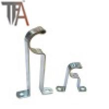 Cortina para decorar apoya los soportes del tubo del hierro