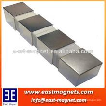 Imán industrial Aplicación y forma de bloque cubo cuadrado magnético