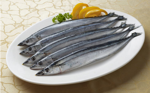 Whole Round Sea Frozen Pacific Saury