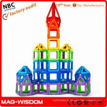 Brinquedo plástico magnético segurança e proteção ambiental