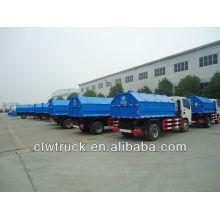 CLW 4000L single-arm rubbish truck,roll off rubbish truck