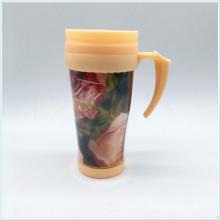 Werbeartikel Großhandel Custom Design Kaffee Reisebecher Plastic Tumbler