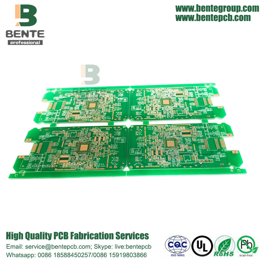 Quickturn PCB ENIG 1u