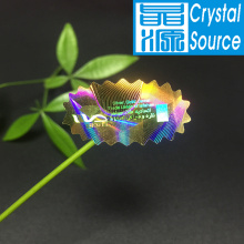 Label Stiker Hologram 3D anti-palsu